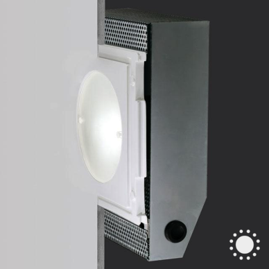Recessed wall mount button class aircoral 10w led recessed wall and ceiling light aloadofball Image collections