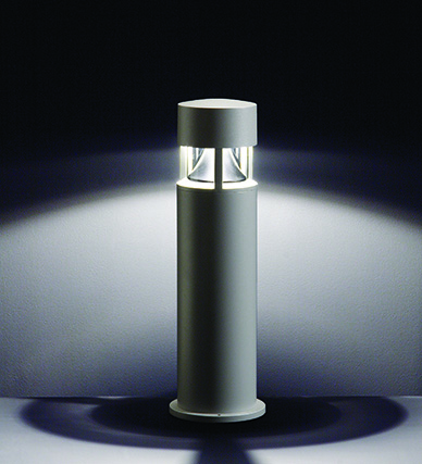 Silvia Z1 Full Cut-off Bollard for Metal Halide and Halogen