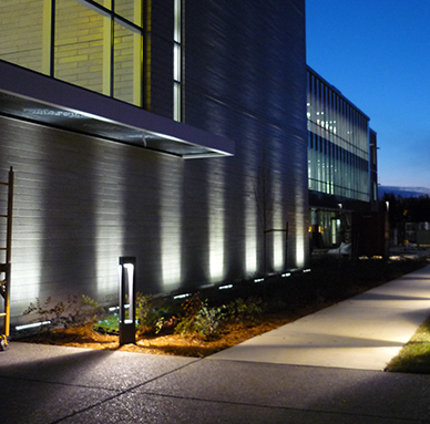 Ll4 ip67 in grade led up light for Building exterior lighting design