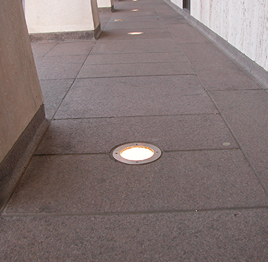 Cul In Grade Led Or Metal Halide Uplight Driveover Ip68 7