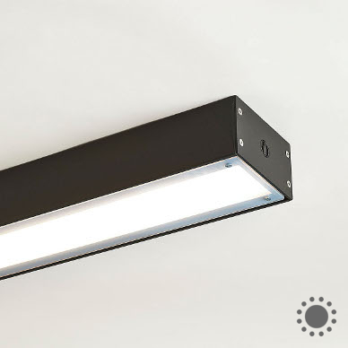 Linear surface mount square one vandal resistant led surface mount aloadofball Gallery