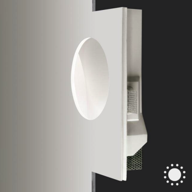 Recessed wall mount globe led ip40 aircoral recessed wall luminaire 787 aloadofball Choice Image